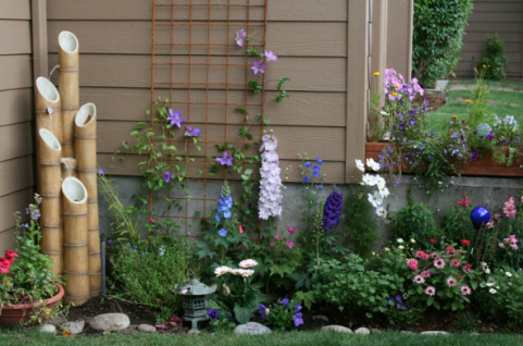 for more photos of my garden and pre movein condo before i painted
